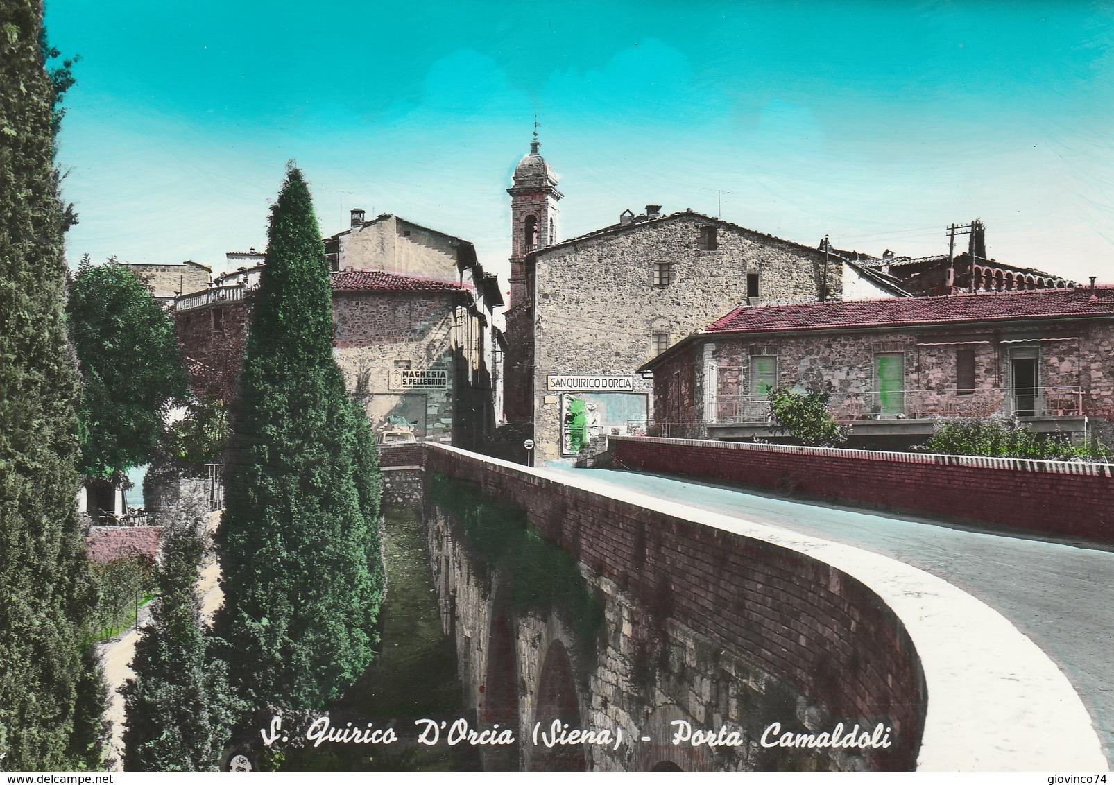 SIENA - S. QUIRICO D'ORCIA - PORTA CAMALDOLI........F7 - Siena