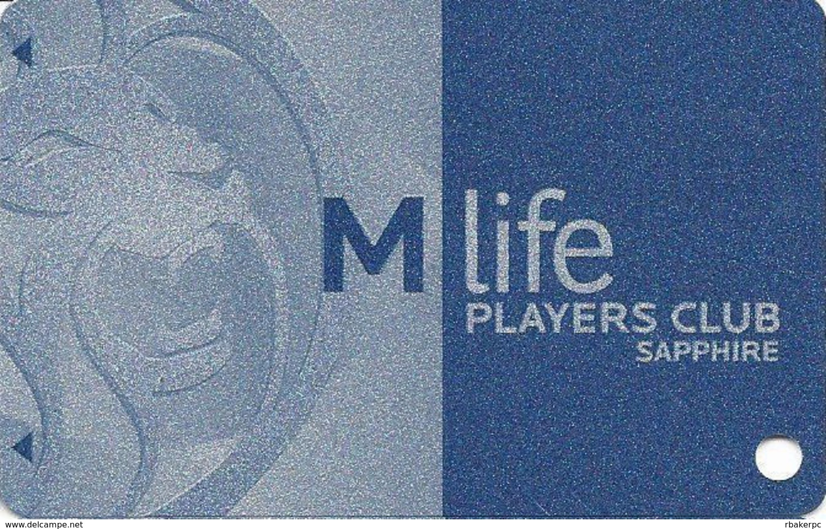 MGM Casinos - Multiple Locations - BLANK MLife Players Club Sapphire Slot Card - Casino Cards