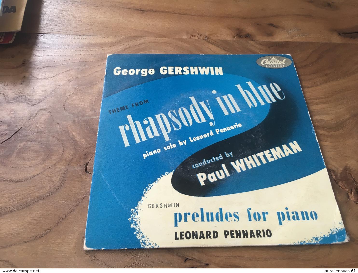 166 / GEORGE GERSHWIN RHAPSODY IN BLUE - Autres