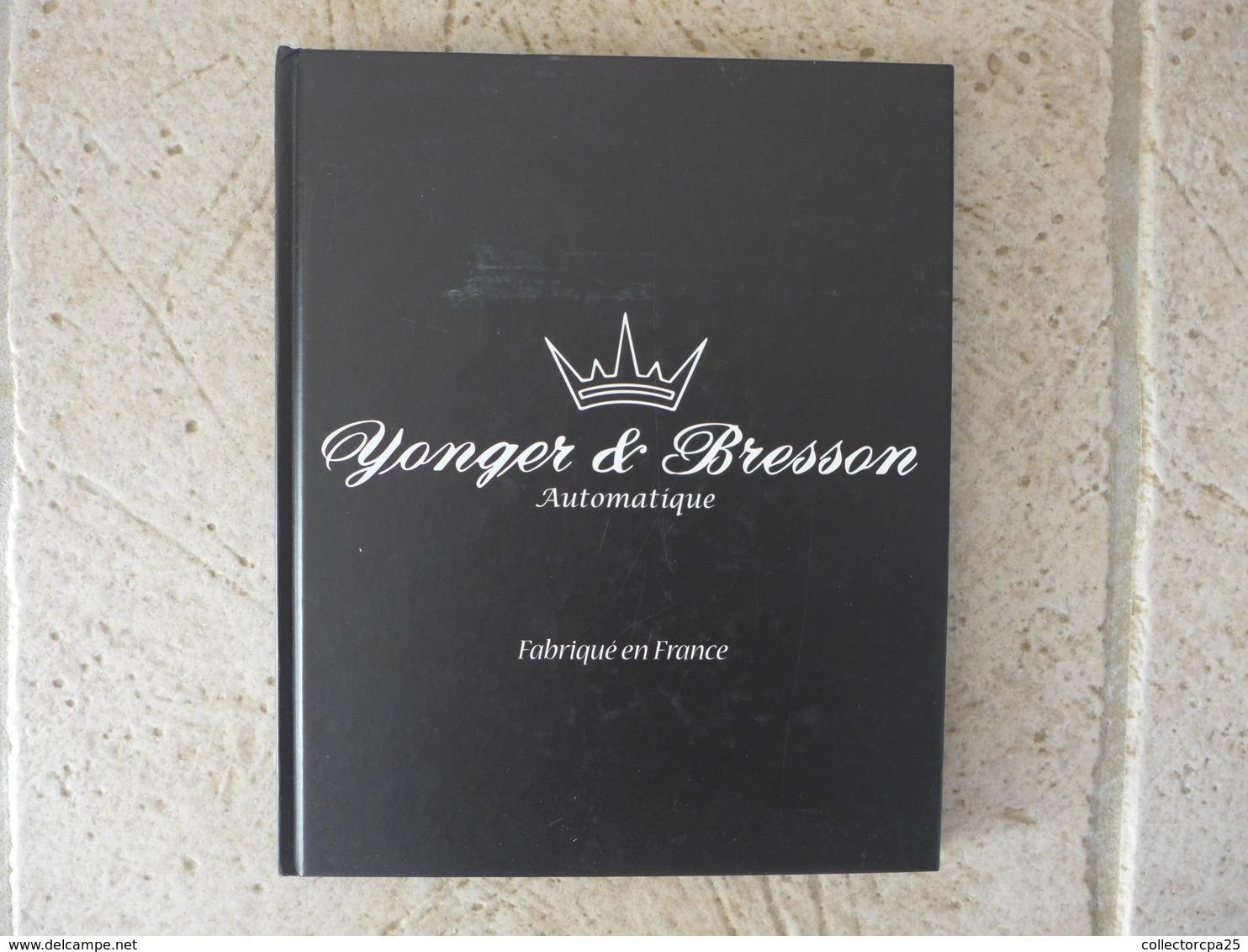 Livre 100 Pages - Morteau Ambre Montres Yonger & Bresson Automatique Fabriqué En France - Bijoux & Horlogerie