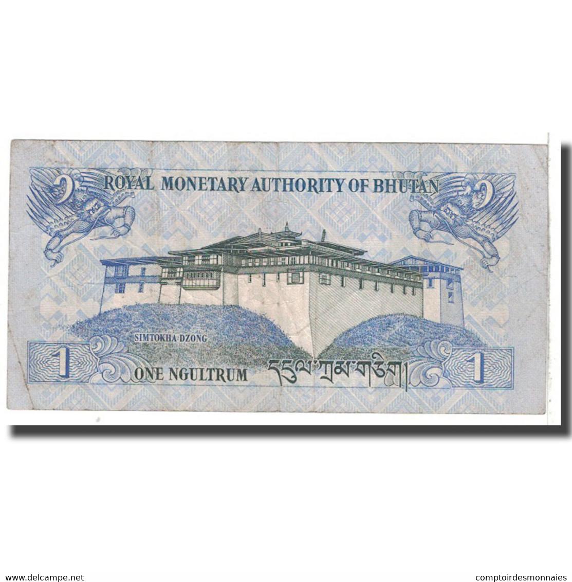 Billet, Bhoutan, 1 Ngultrum, 2006, KM:27, TB - Bhoutan