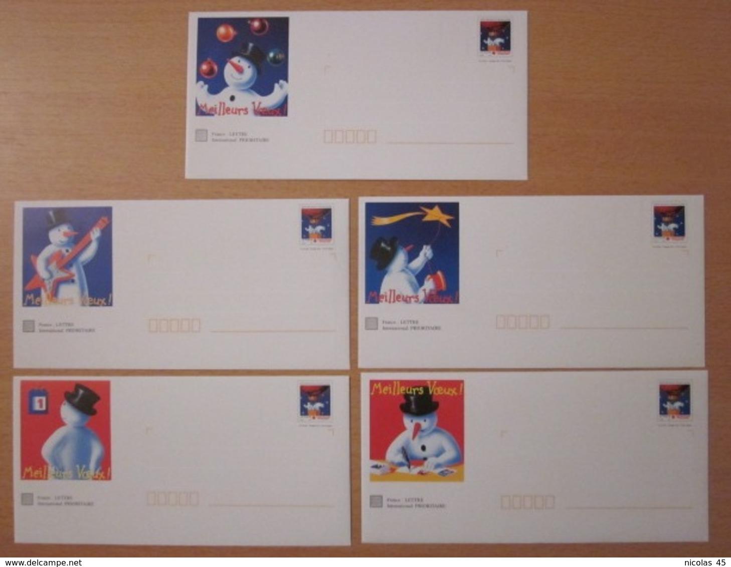 Lot PAP Neufs - Postal Stamped Stationery