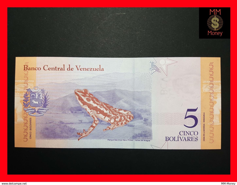 VENEZUELA  5 Bolivares 15.1.2018 P. NEW UNC - Venezuela
