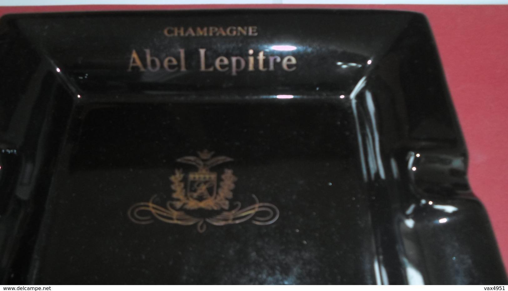 CENDRIER  CHAMPAGNE ABEL LEPITRE  NEUF DANS EMBALLAGE D ORIGINE  ****   RARE   A  SAISIR **** - Asbakken