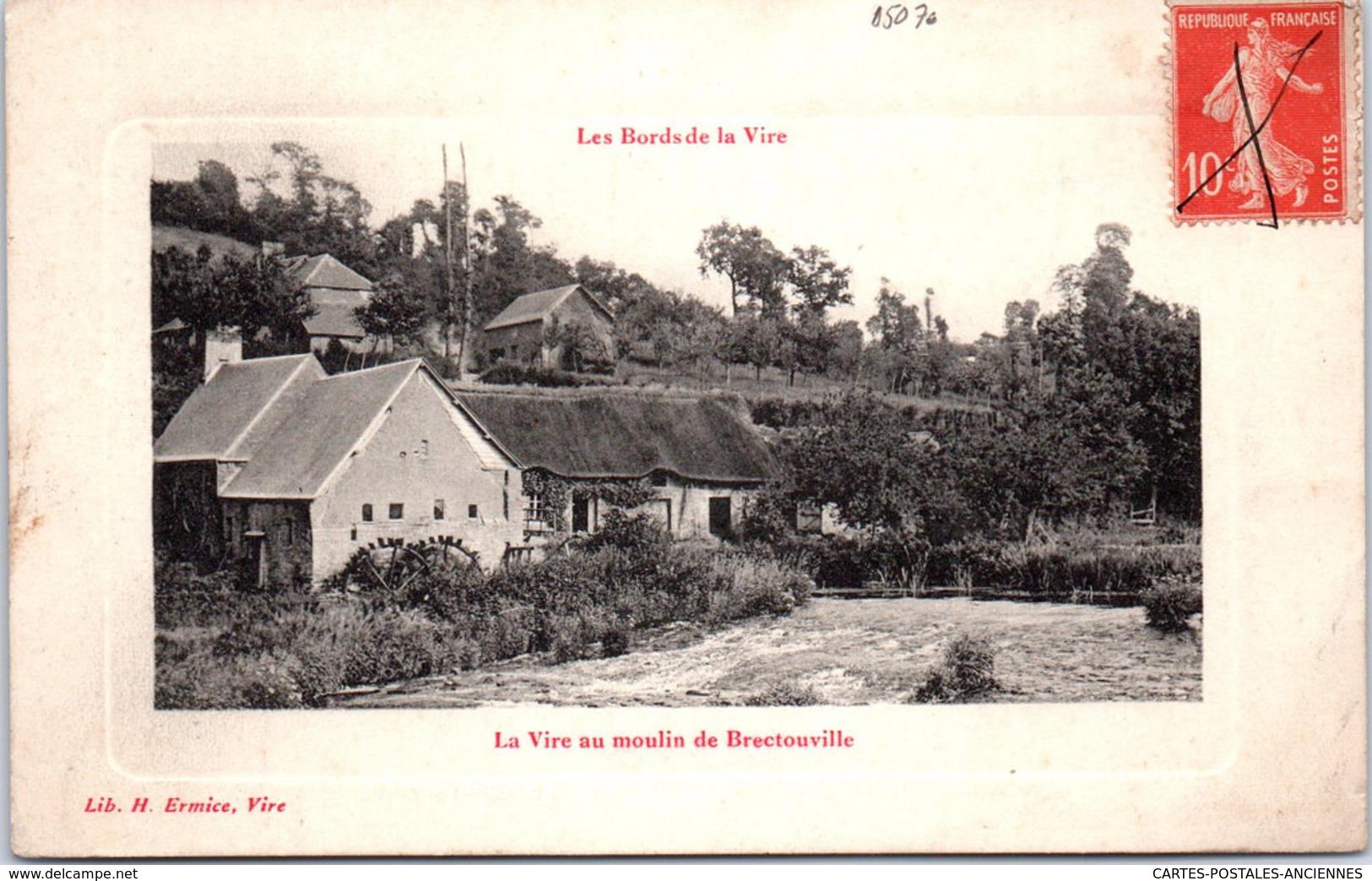 50 BRECTOUVILLE - La Vire Au Moulin - Autres Communes