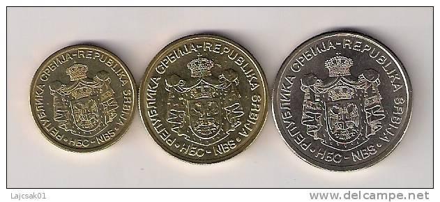 Serbia 2005. Coin Set High Grade - Serbie