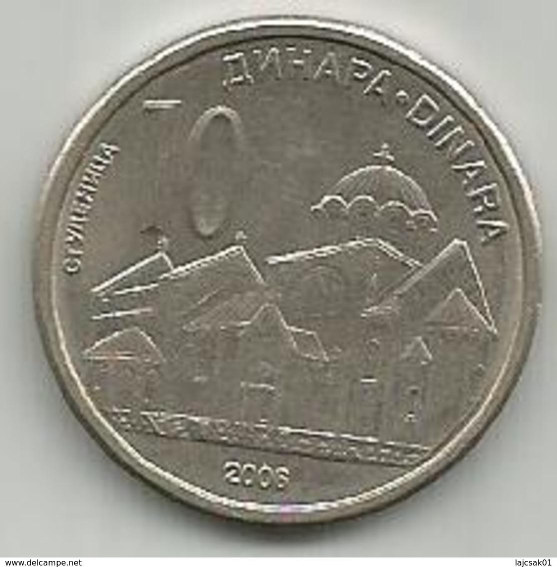 Serbia 10 Dinara  2006. - Serbie