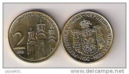 Serbia Serbie 2 Dinara 2008. - Serbie