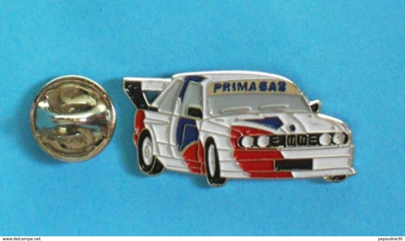 1 PIN'S //   ** SUPERTOURISME / BMW M3 / PRIMAGAZ ** - BMW
