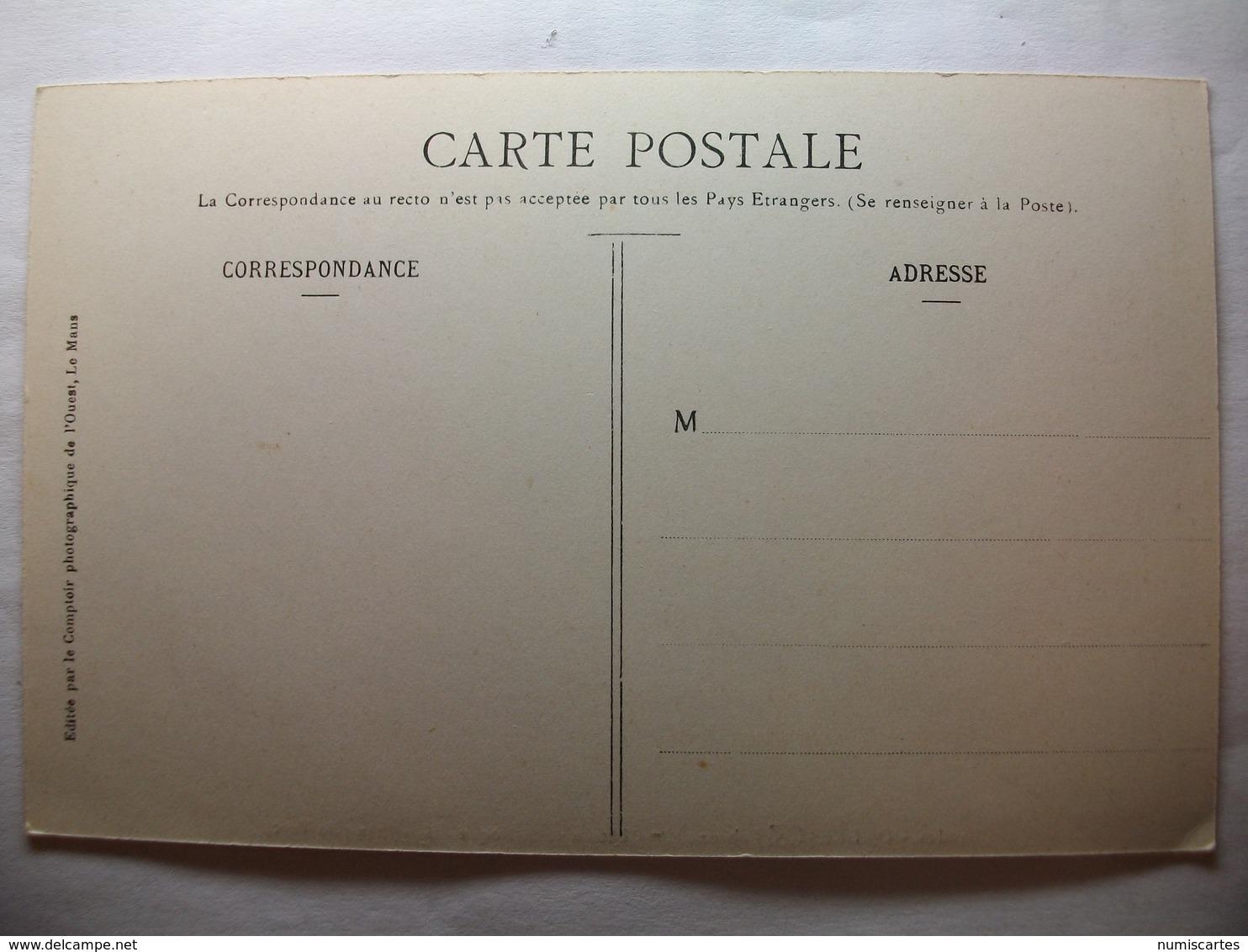Carte Postale Ondres (44) Chateau De La Roque -Etang Du Turc (Petit Format Noir Et Blanc Non Circulée ) - France