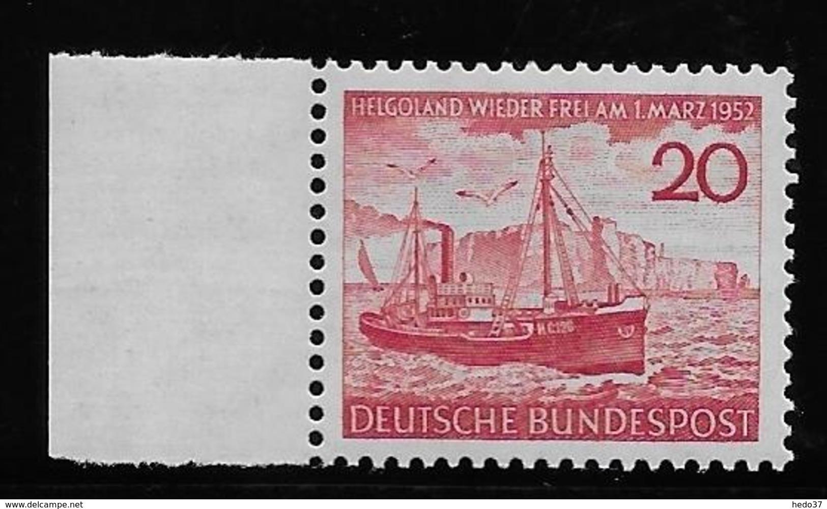Allemagne Fédérale N°35 - Neuf ** Sans Charnière - TB - Neufs