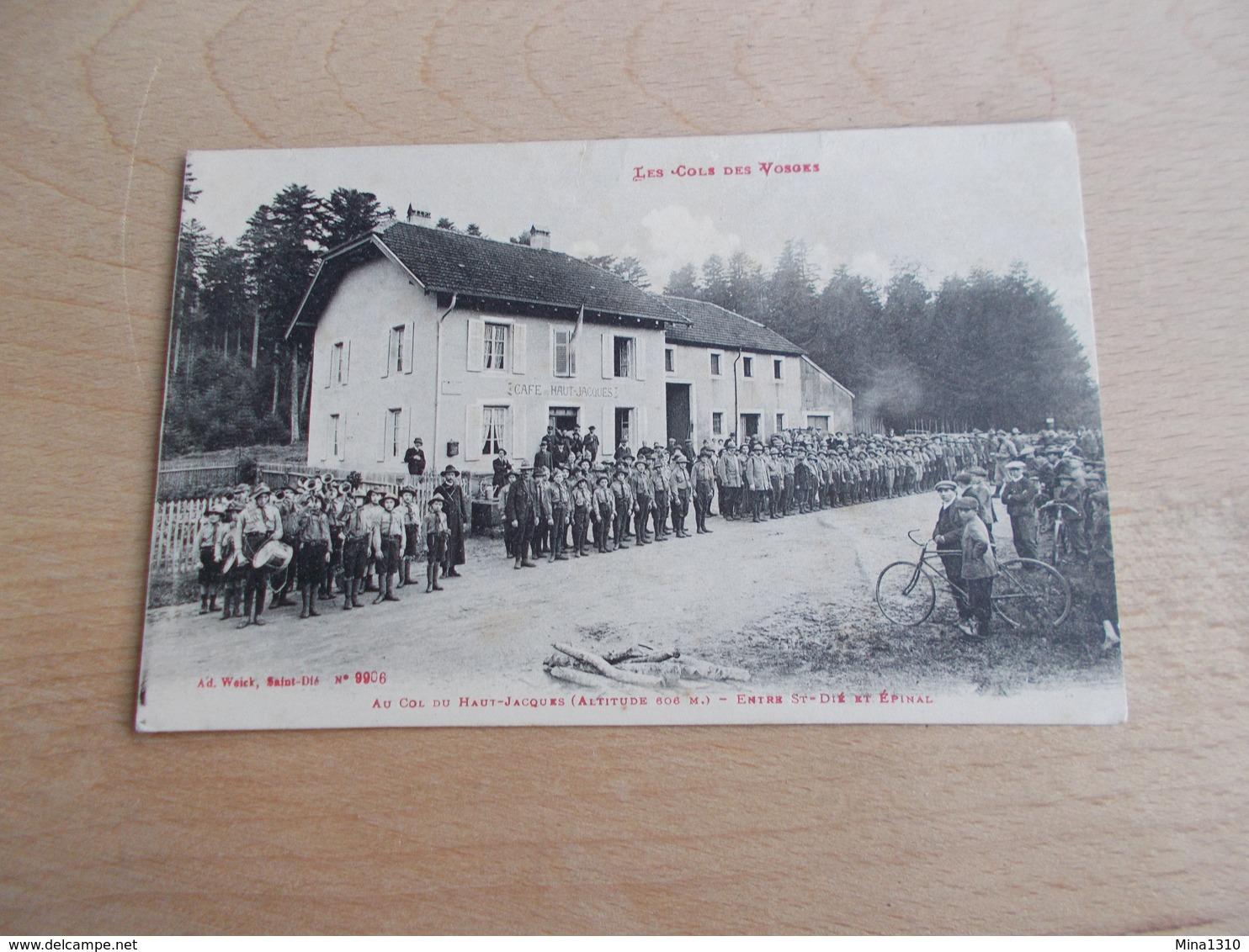Les Cols Des Vosges - Au Col Du Haute-Jacques - Entree St. Die Et Epinal - Saint Die