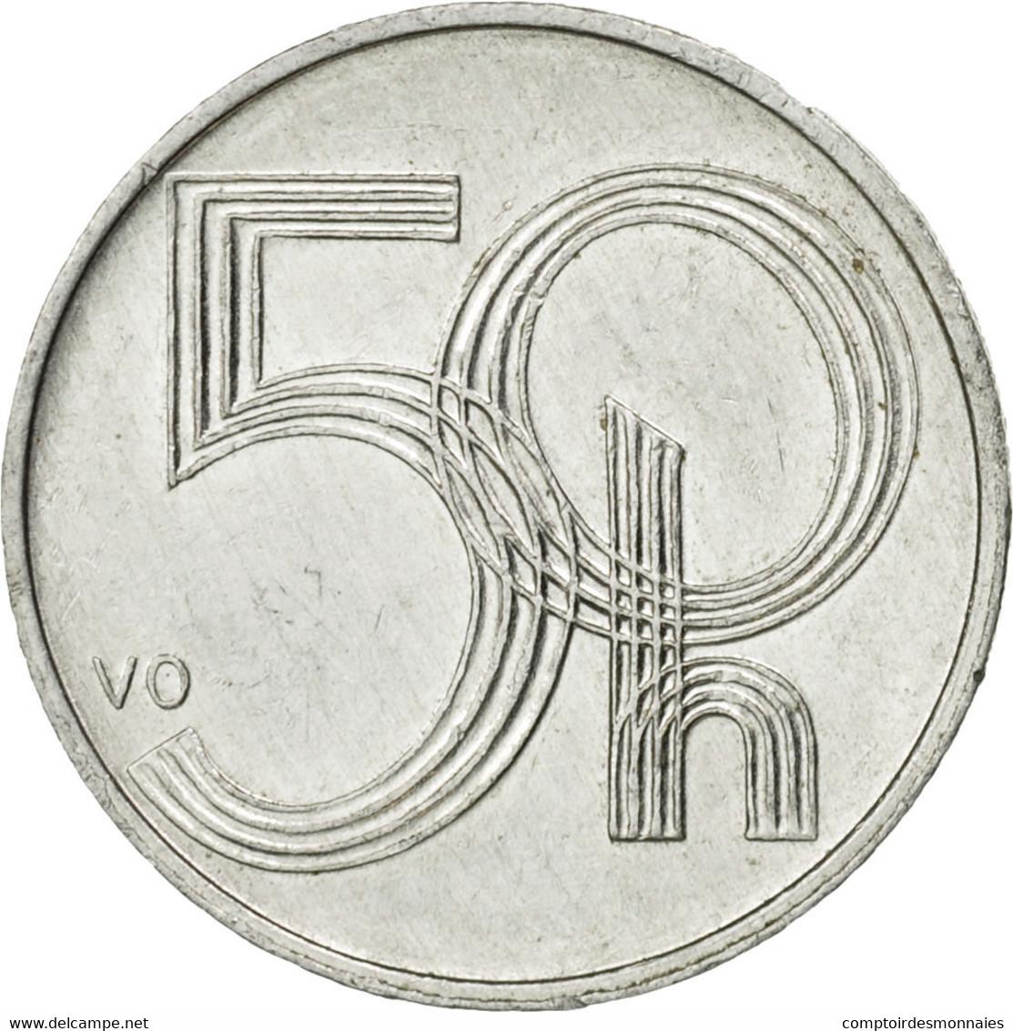 Monnaie, République Tchèque, 50 Haleru, 2003, Jablonec Nad Nisou, TTB - Tchéquie