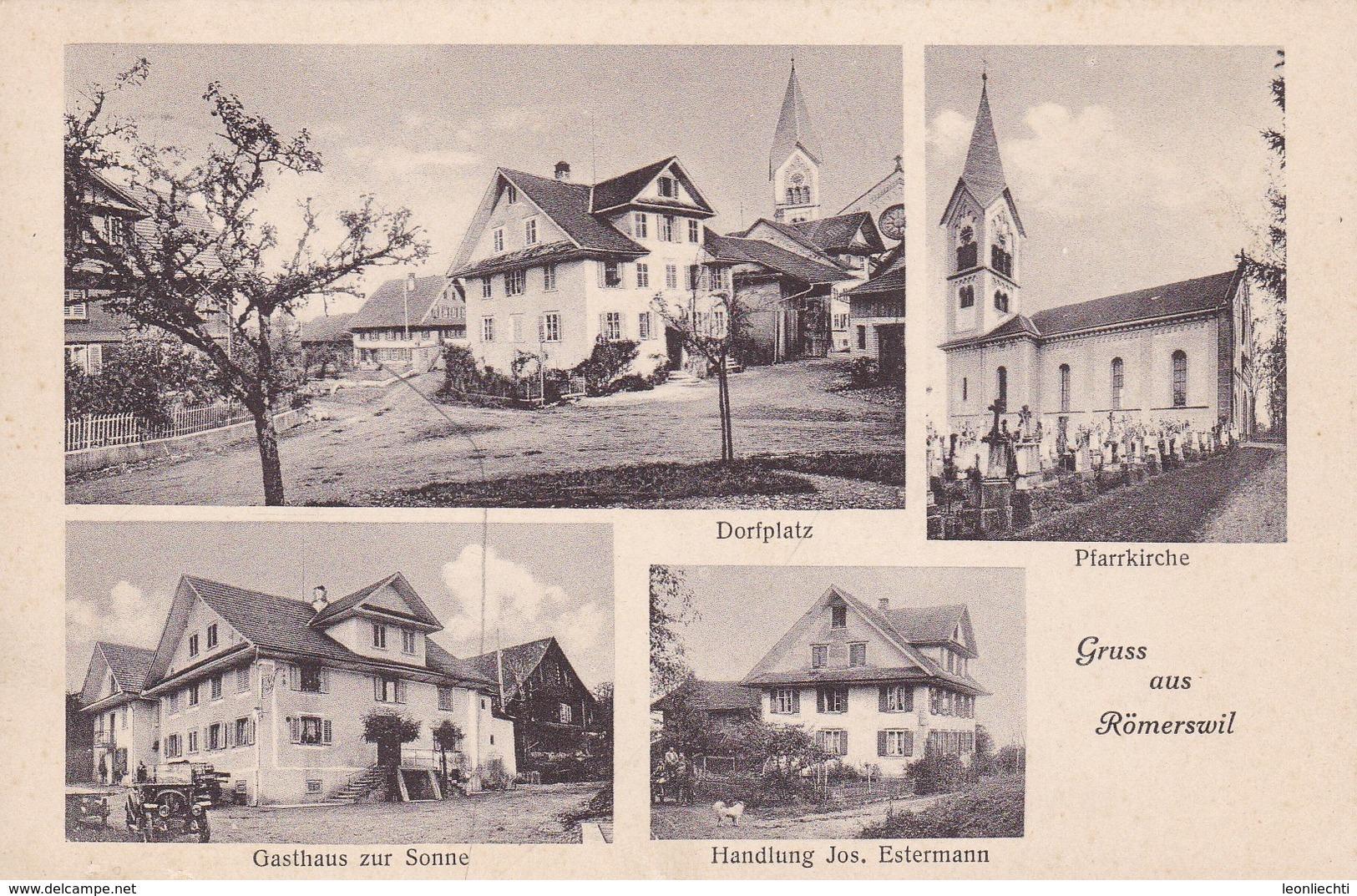 Ansichtskarte. Gruss Aus Römerswil Mehrbildkarte - LU Lucerne