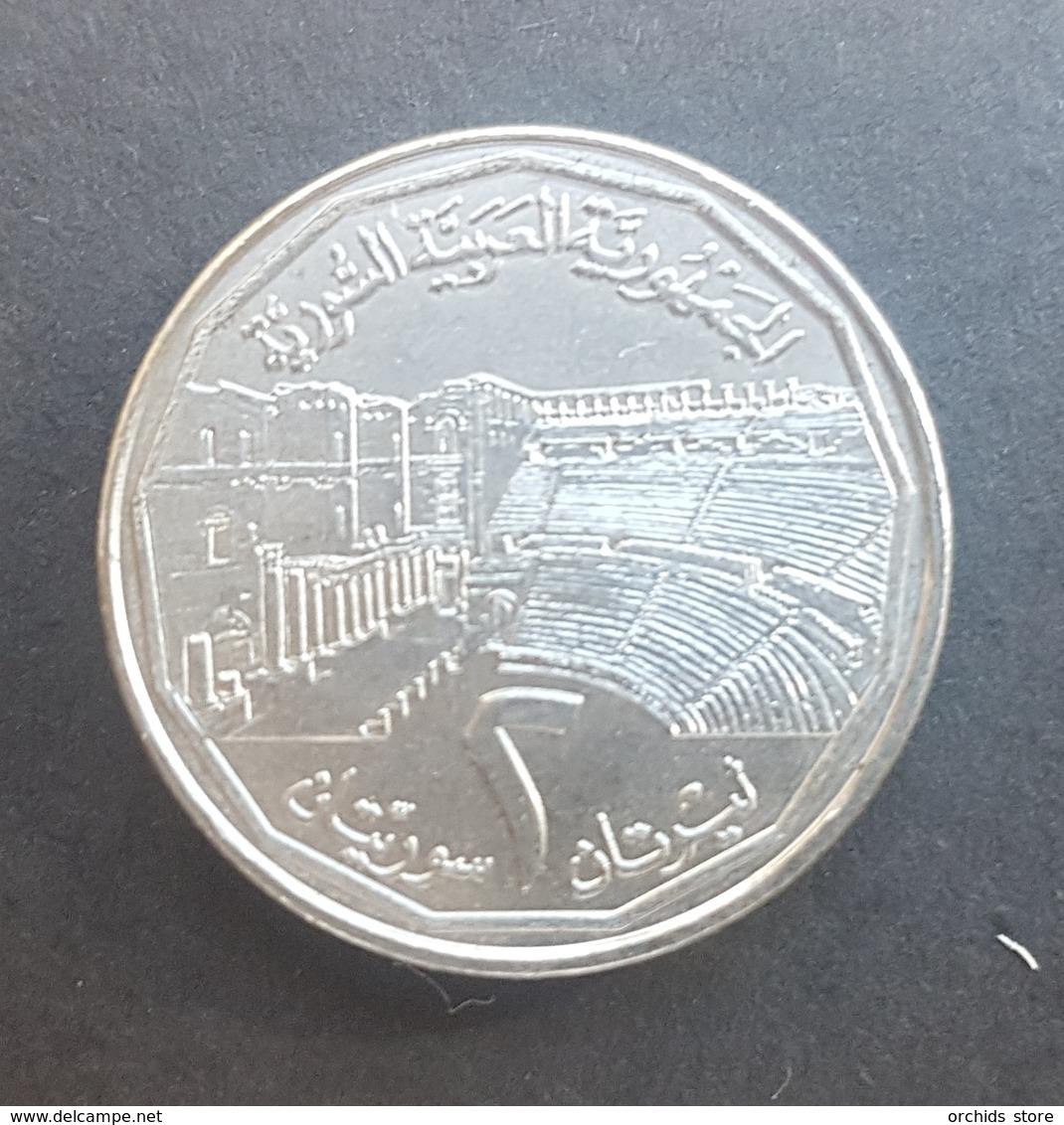 HX - Syria 1996 2 Livres Coin A-UNC / UNC - Syrie