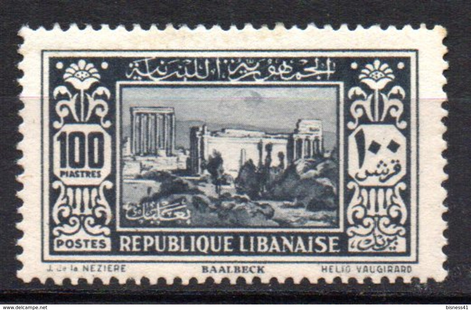 Col10    Grand Liban  N° 148 Neuf X MH  Cote : 44,00 Euro Cote 2015 - Great Lebanon (1924-1945)