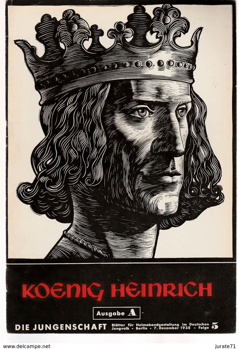 Die Jungenschaft,Folge 5, Ausgabe A, 1938, Magazines For Hitlerjugend, Heimabend Jungvolk, HJ, Pimpf - Hobby & Verzamelen