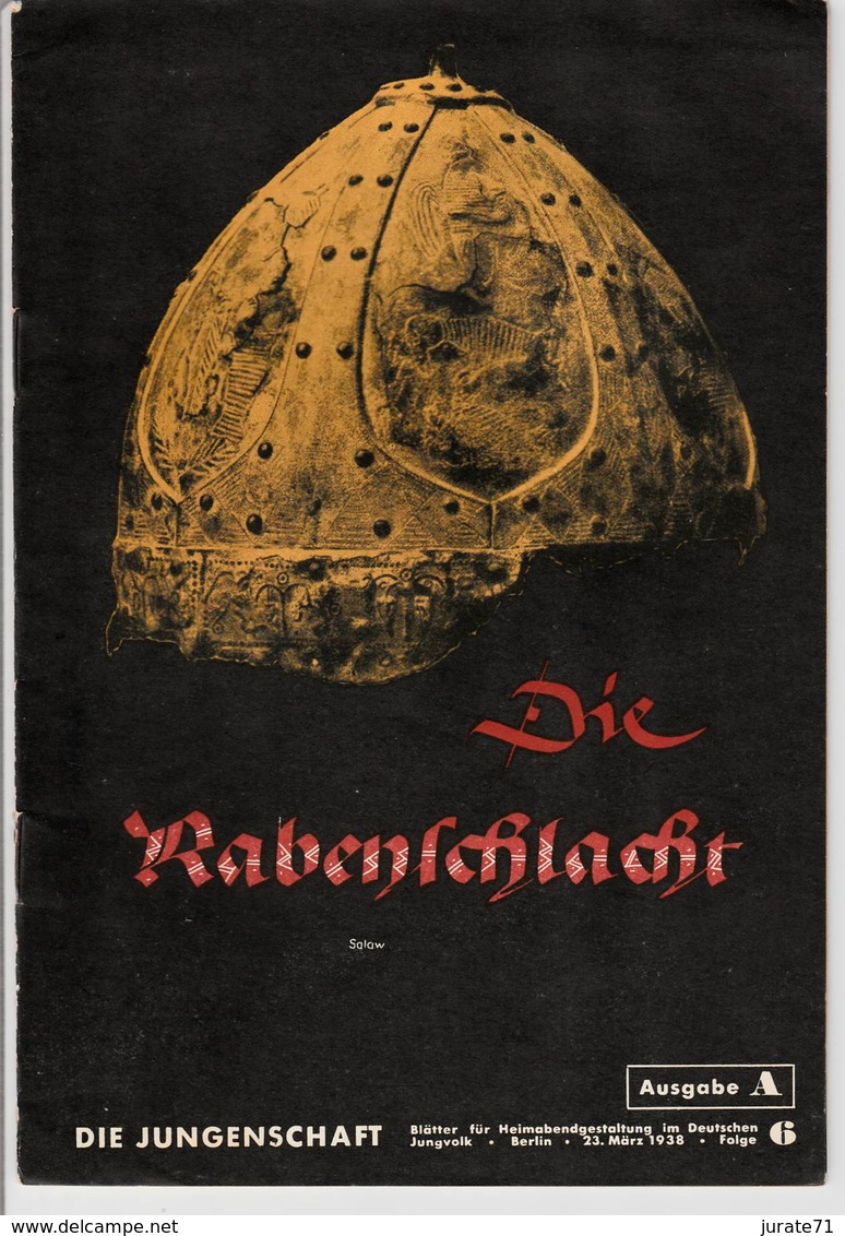 Die Jungenschaft,Folge 6, Ausgabe A, 1938, Magazines For Hitlerjugend, Heimabend Jungvolk, HJ, Pimpf - Loisirs & Collections