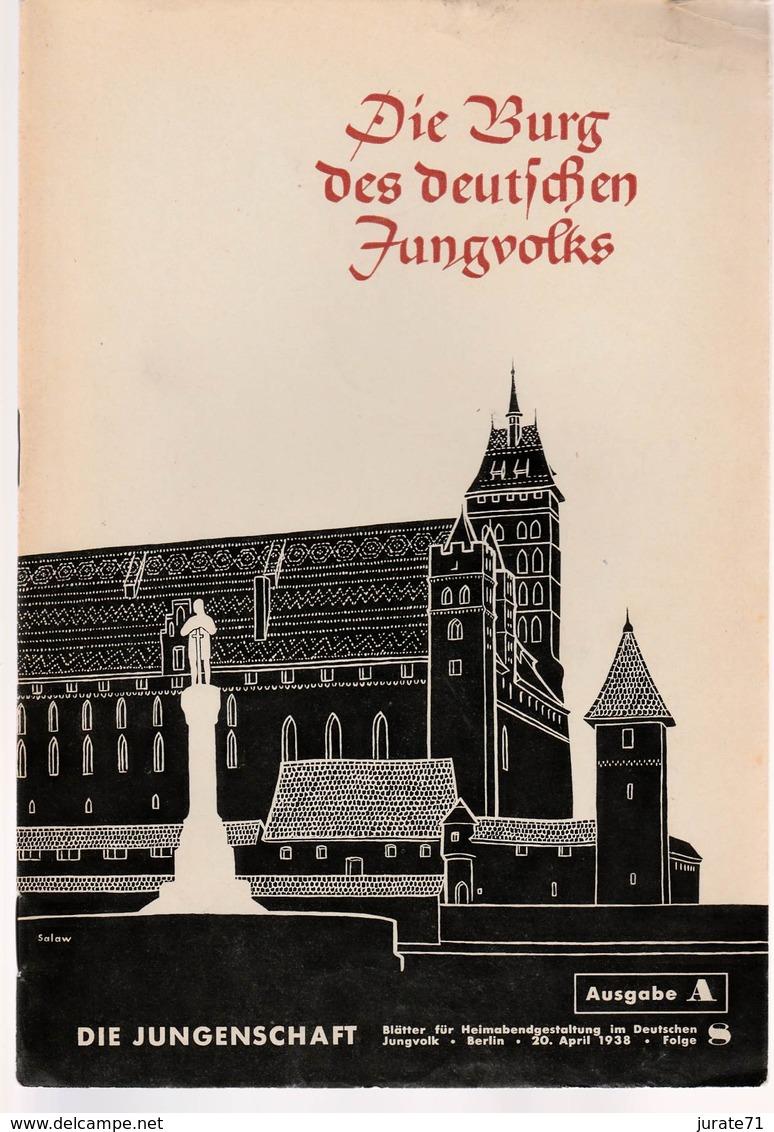 Die Jungenschaft,Folge 8, Ausgabe A, 1938, Magazines For Hitlerjugend, Heimabend Jungvolk, HJ, Pimpf - Hobbies & Collections