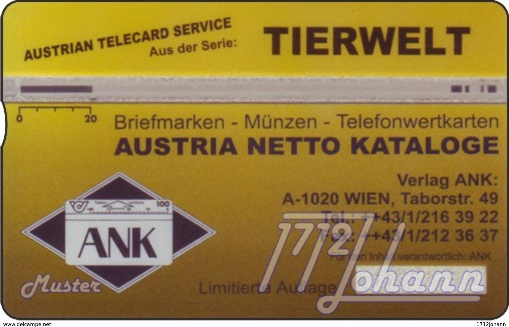"""TWK Österreich Privat: """"Robbe - ANK"""" Gebr. (Fehldruck) - Oesterreich"""