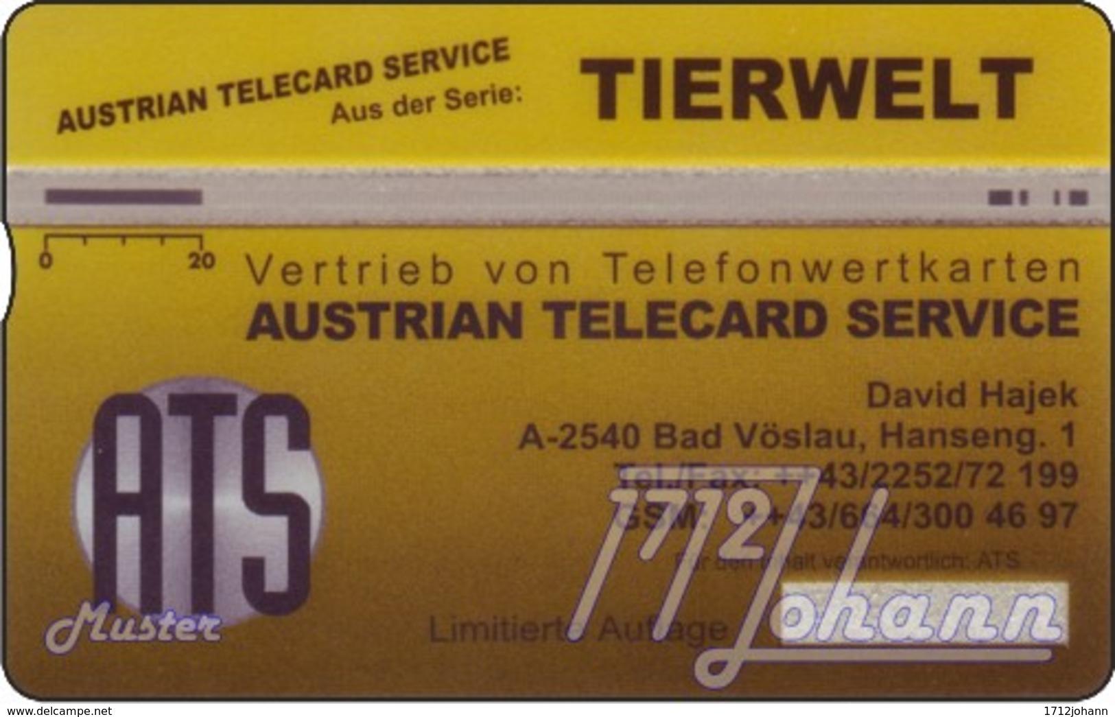 """TWK Österreich Privat: """"Tiger - ATS"""" Gebr. - Oesterreich"""