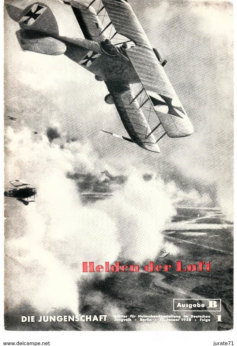Die Jungenschaft,Folge 1, Ausgabe B, 1938, Magazines For Hitlerjugend, Heimabend Jungvolk, HJ, Pimpf - Loisirs & Collections