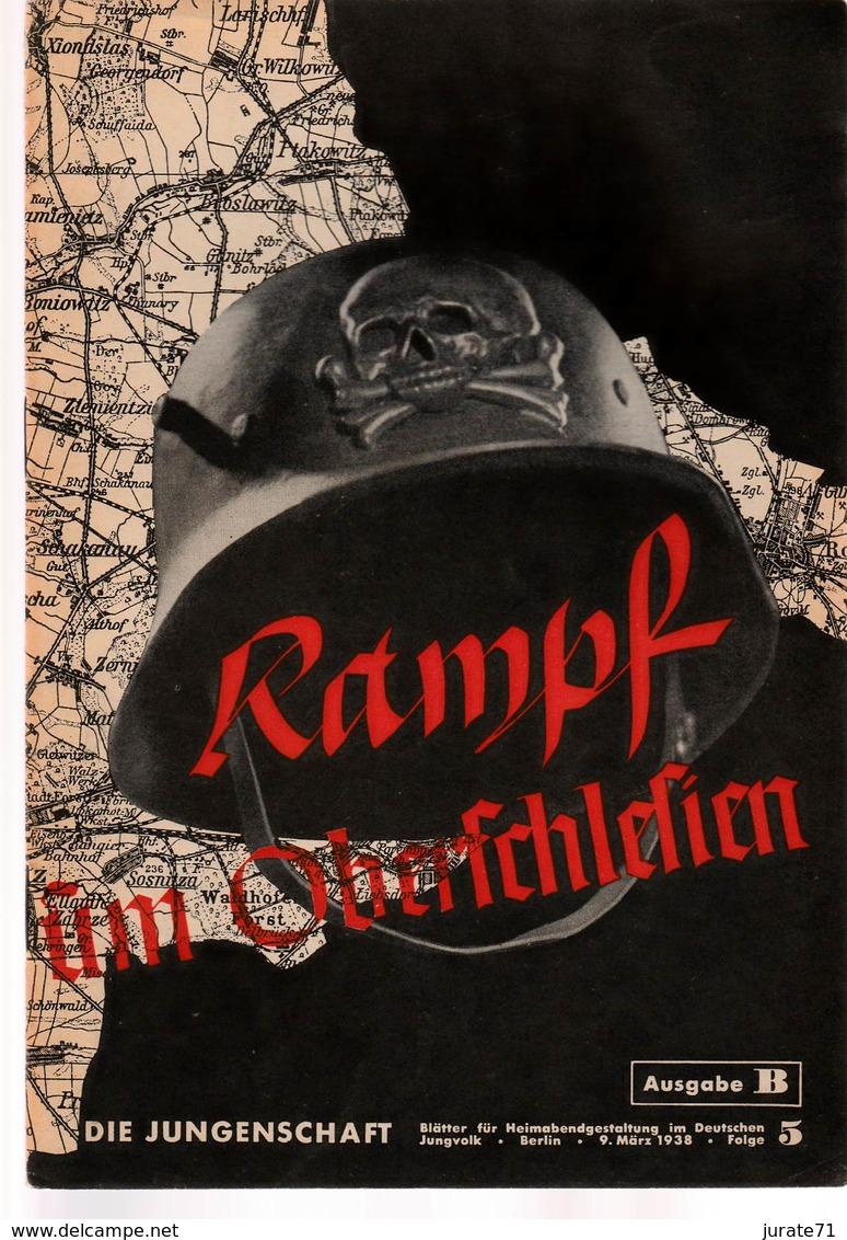 Die Jungenschaft,Folge 5, Ausgabe B, 1938, Magazines For Hitlerjugend, Heimabend Jungvolk, HJ, Pimpf - Hobbies & Collections