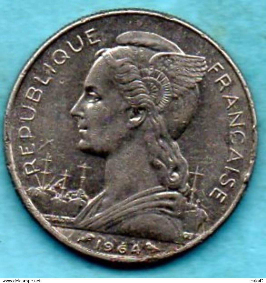 NO/  REUNION French Colonie  50 Francs 1964  KM#12 - Réunion
