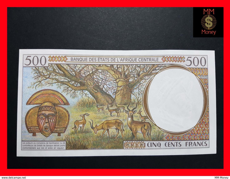 C.A.S CENTRAL AFRICAN STATES GABON 500 Francs 1993  P. 401 L A - Gabon