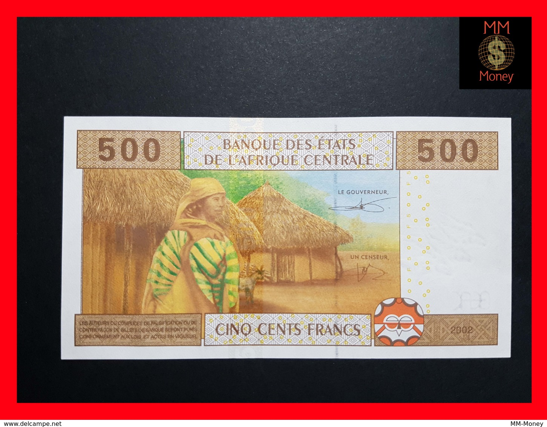 CENTRAL AFRICAN ST EQUATORIAL GUINEA 500 FRANCS 2000 UNC P 501N