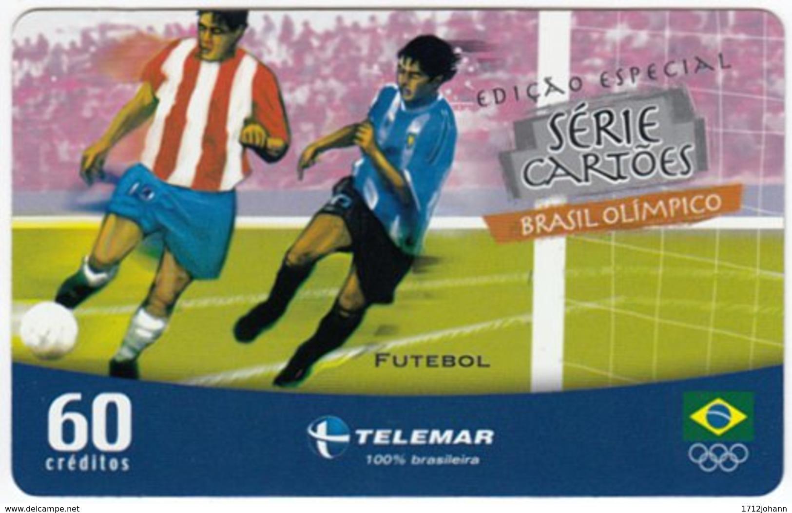 BRASIL G-478 Magnetic Telemar - Event, Olympic Games, Soccer - Used - Brasilien