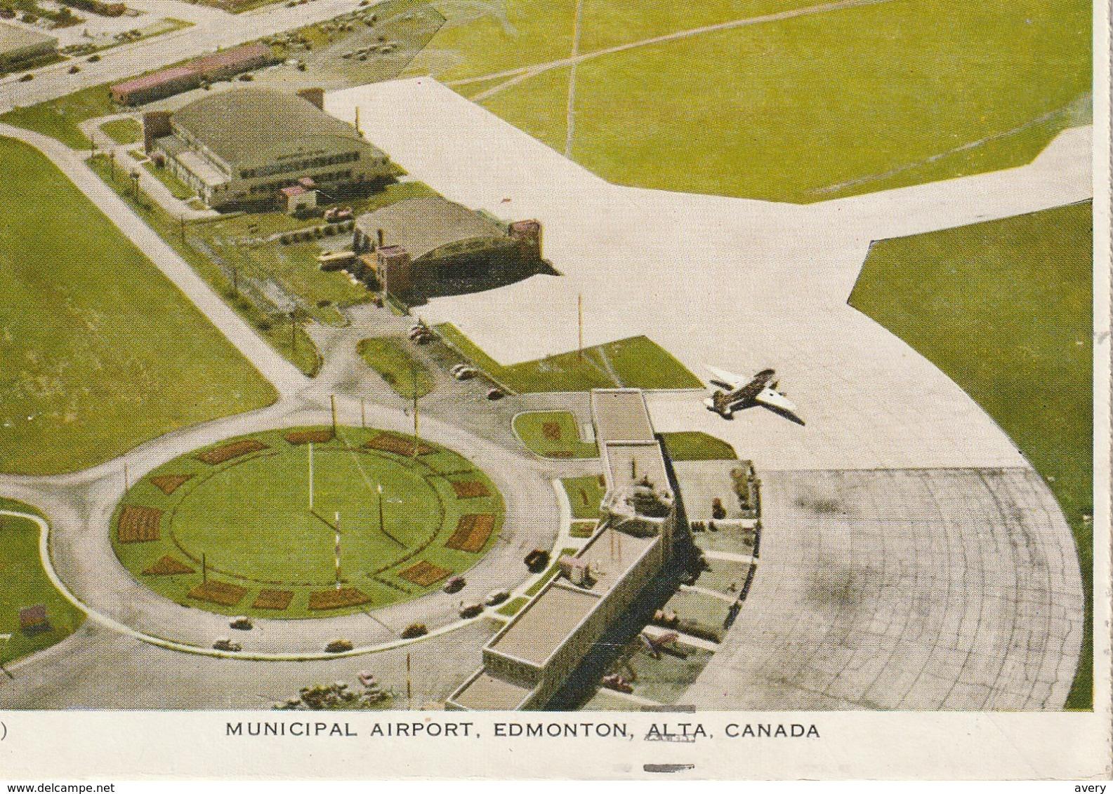 Folkard  Municipal Airport, Edmonton, Alberta - Edmonton