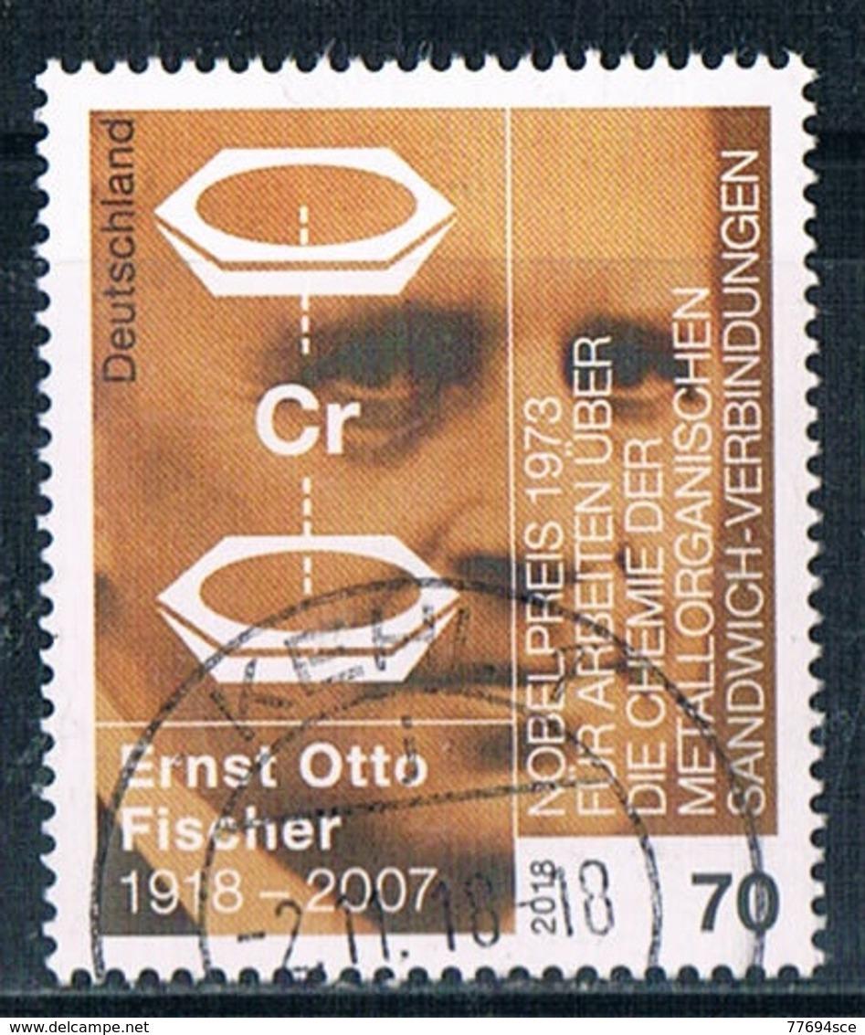 2018  100. Geburtstag Von  Ernst Otto Fischer - BRD