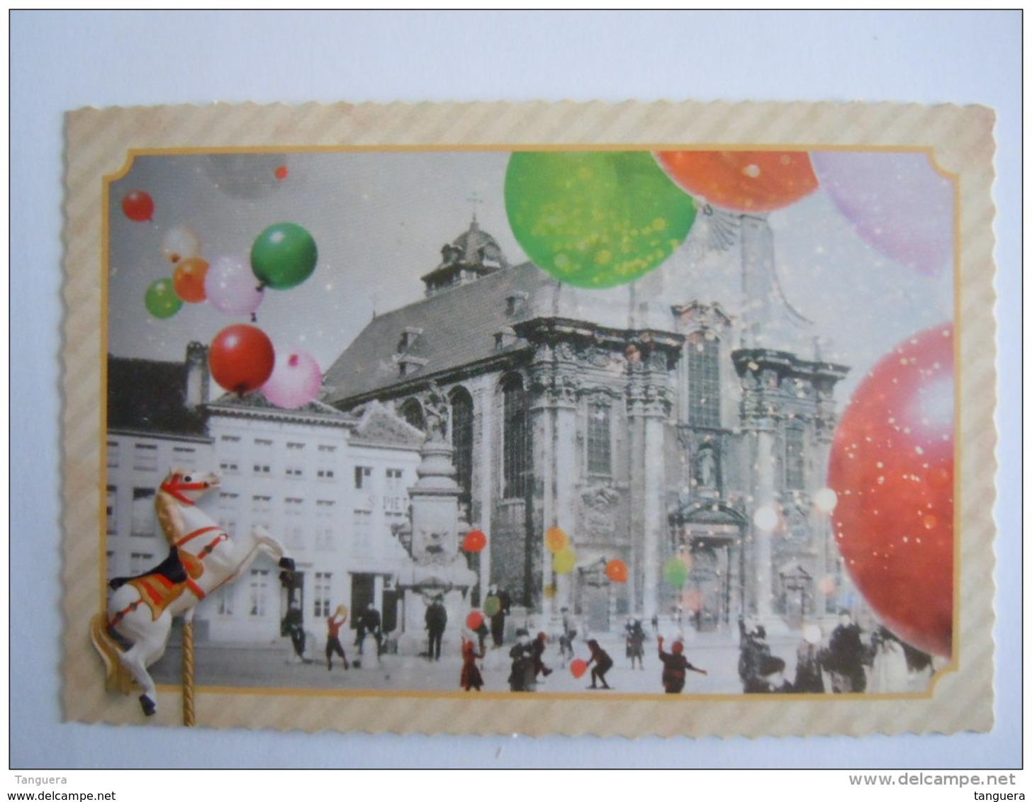 Cpm België Belgique Mechelen Malines Circus Ronaldo Cirque 12 Moderne Kaarten 12 Cartes Moderne - Zirkus