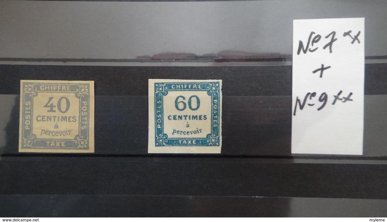 Destockage De 28 Kgs Dont France N° 3**, Taxe N° 7 + 9 ** Et Autres Classics ... Voir Commentaires - Timbres