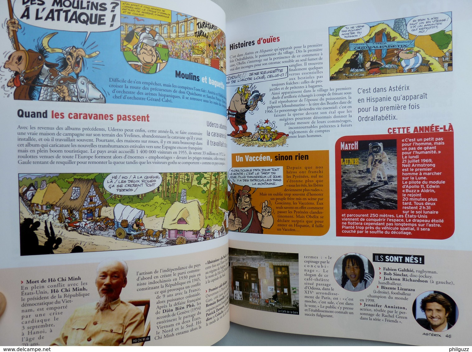 MAGAZINE HS PARIS MATCH ASTERIX Tous Les Secrets Des Albums 2016 - Figurines