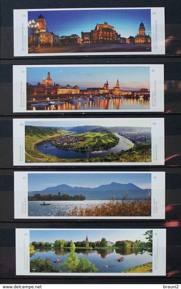 Germany Allemagne 10 X Panorama Landscape / ** MNH Self Adhesive - Geographie