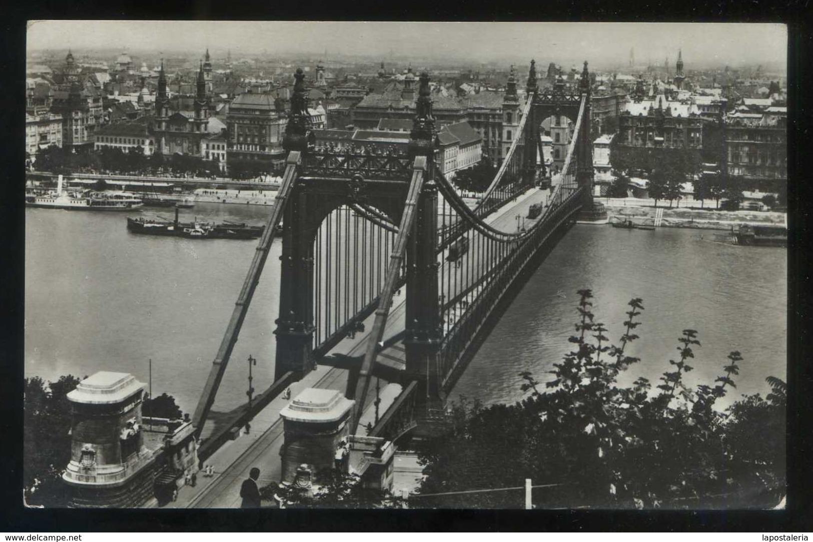 Budapest. *Pont Elisabeth* Nueva. - Hungría