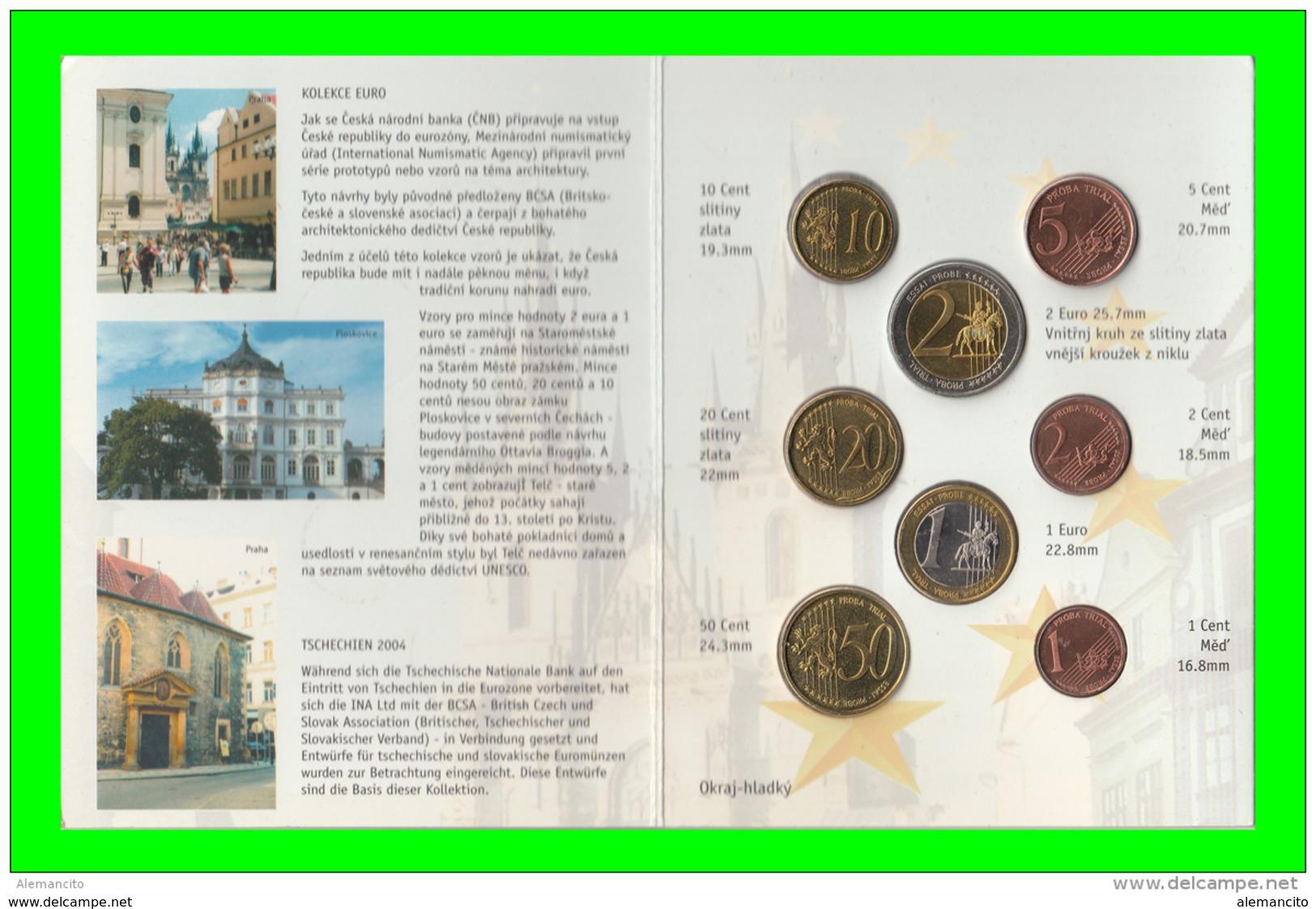 REPUBLIKA CESKÁ AÑO 2004 EUROS PRUEBA - Tchéquie
