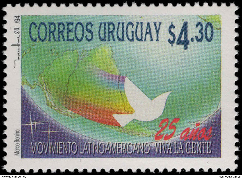 Uruguay 1994 Long Live The People Unmounted Mint. - Uruguay