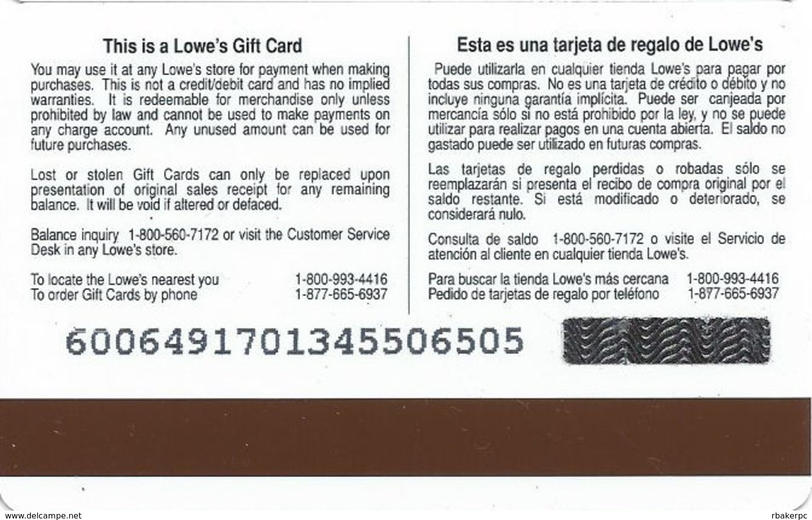Lowes NCAA Gift Card - Cincinnati Bearcats - Gift Cards