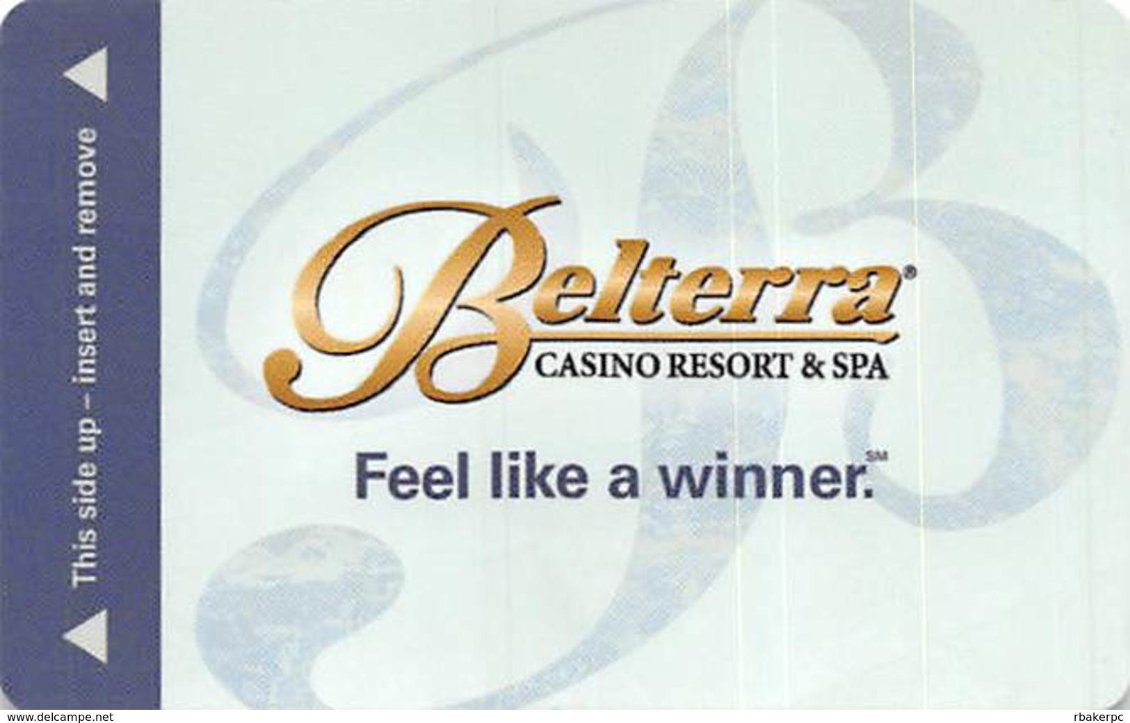 Belterra Casino Resort - Florence, IN - Hotel Room Key Card - Hotel Keycards