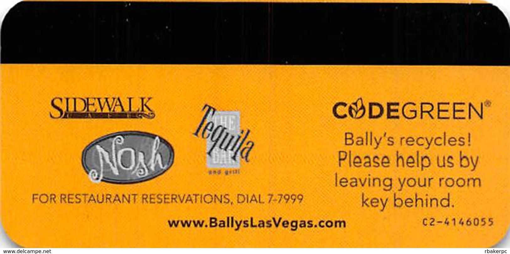 Bally's Casino - Las Vegas, NV - Hotel Room Key Card With C2-4146055 - Hotel Keycards