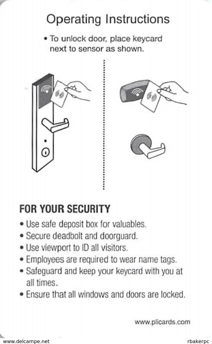 Fairfield Inn & Suites / Marriott - RFID Room Key Card (no Magnetic Stripe) - Hotel Keycards