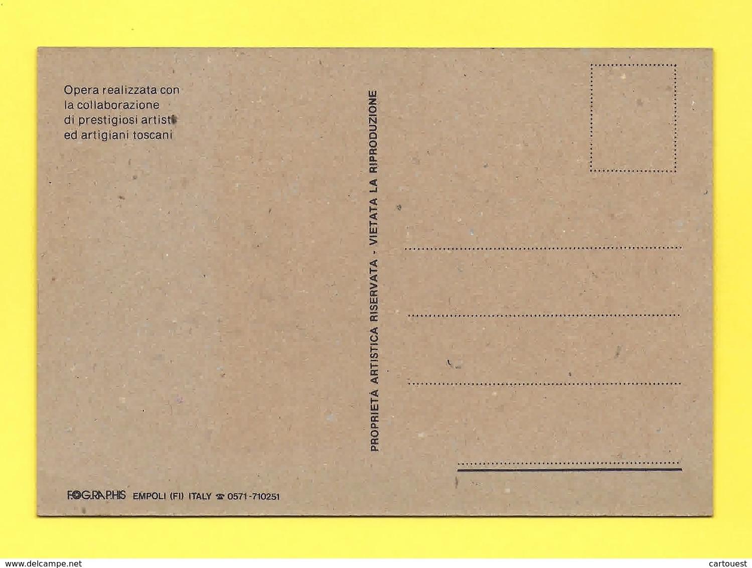 Carte En LIEGE FIRENZE David Di MICHELANGELO - Cartes Postales
