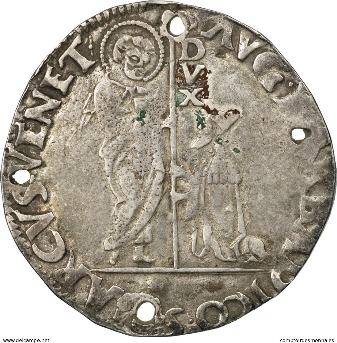 Monnaie, États Italiens, Agostino Barbarigo, Lira, Venezia, TB+, Argent - Regional Coins
