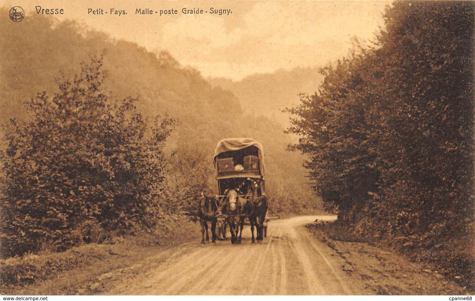 Vresse - Petit-Fays - Malle-Poste Graide-Sugny - Vresse-sur-Semois