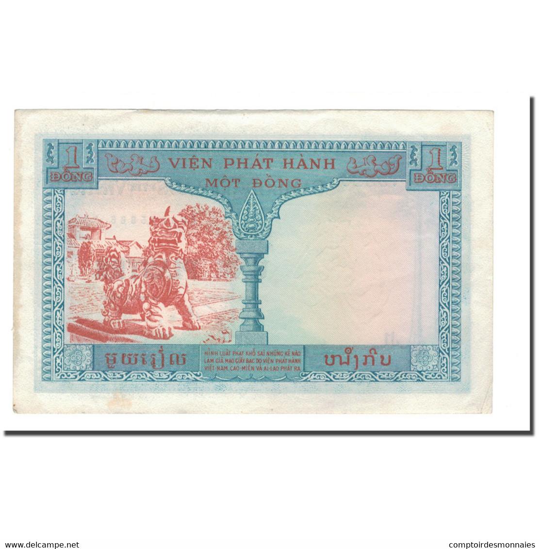 Billet, FRENCH INDO-CHINA, 1 Piastre = 1 Riel, 1954, KM:94, TB - Indochine