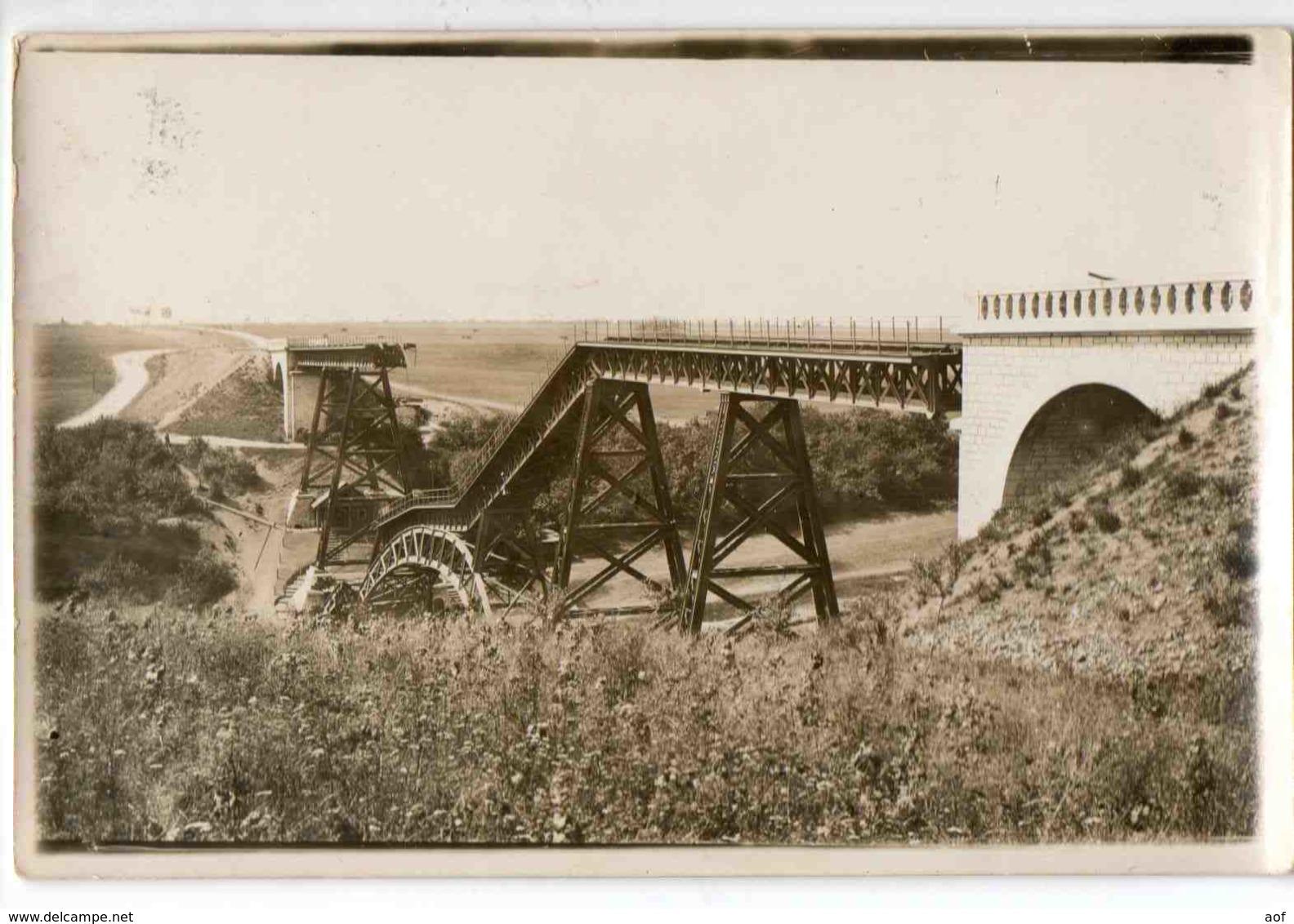 54-2411 BOUILLONVILLE Pont Grande Photo - France