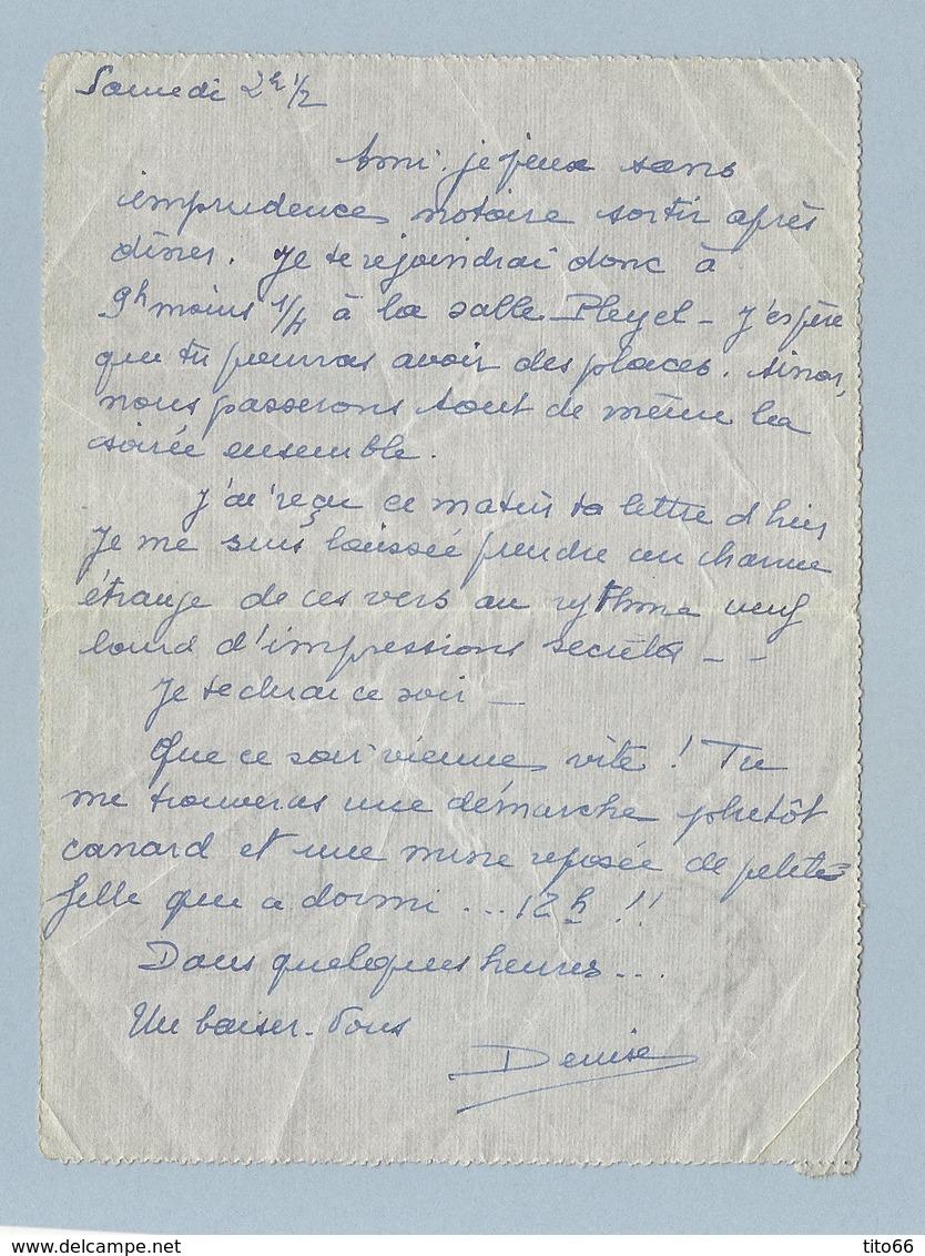 N° 283 Paix Bande De 2 Et Demi Sur Pneumatique TAD 4 Différents  Paris 21,75,VIII,87 Du 21/7/35 - Postmark Collection (Covers)